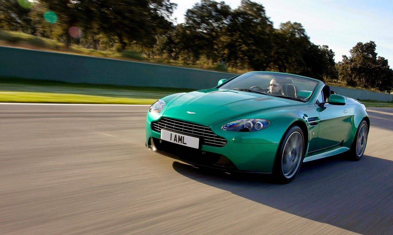 Aston Martin V8 Vantage S-Roadster Viridian Green 2011