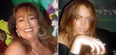 Massiel y Lindsay Lohan, adicciones que unen