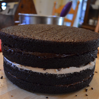 Best Way To Frost Assemble A Four Layer Cake