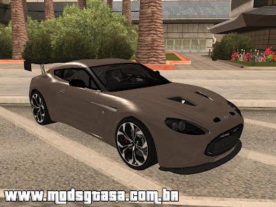 Aston Martin V12 Zagato 2011 Final para GTA San Andreas