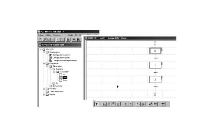 logiciel pl7 micro d u0026 39  un automate