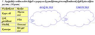 Sinif fen ve teknoloji 2 dönem 1 yazılı soruları 2012 2013