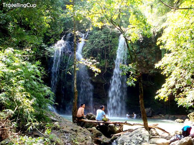 Mt. Pico de Loro water falls