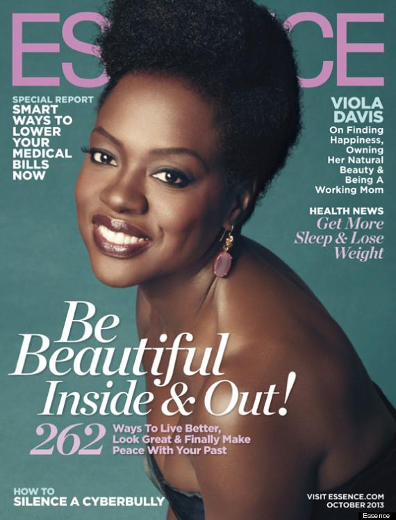 Viola davis on essence magazine talks about natural hair for Essence magazine recipes
