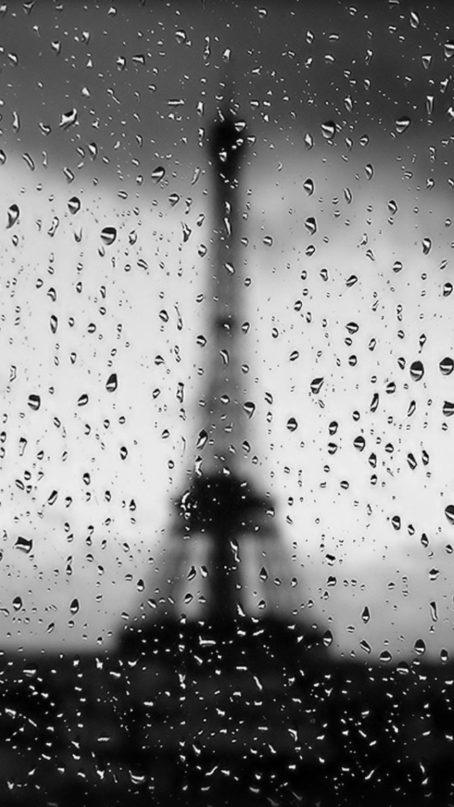 HD  iPhone 5 Rain Wallpapers HD