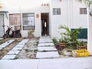 jardin pequeo fachada antes