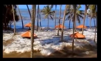 homenaje del Vuelo a los muertos del Tsunami 2004