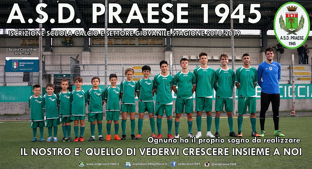 A.S.D. PRAESE 1945 - OFFICIAL BLOG
