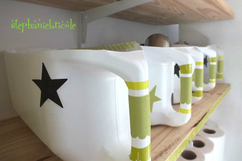 Recycler c 39 est bidon distributions pla m - Astuce rangement atelier bricolage ...