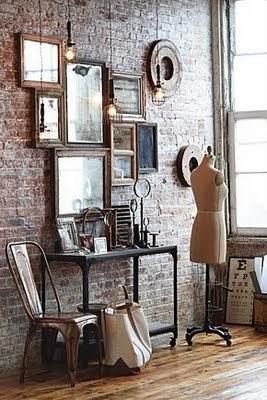 displaying on a wall/lulu klein