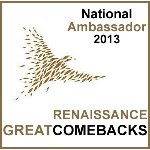 Great ComeBacks National Ambassador for Canada 2013