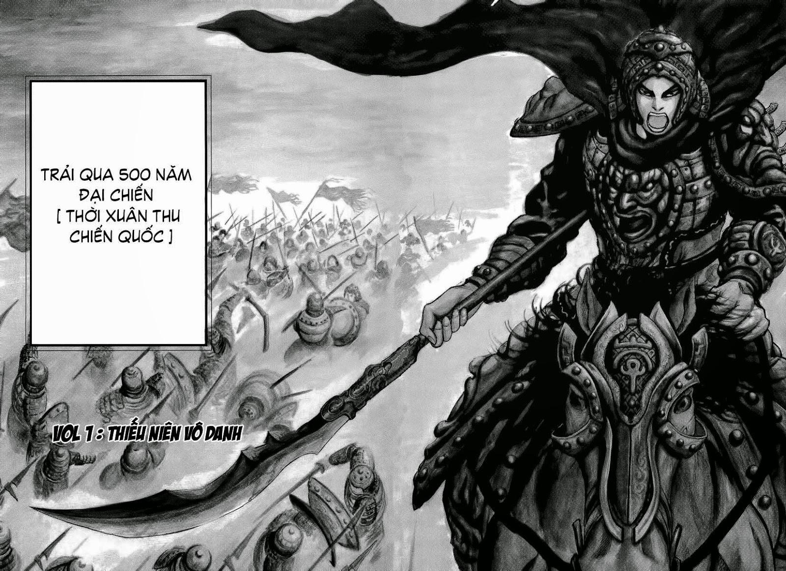 Kingdom – Vương Giả Thiên Hạ chap 1 Trang 6