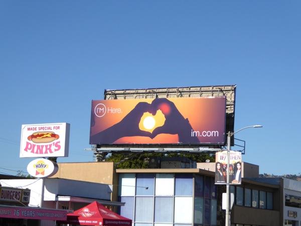 I'm Here app billboard