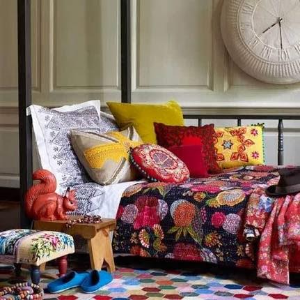 Tutorial de como fazer as almofadas de patchwork