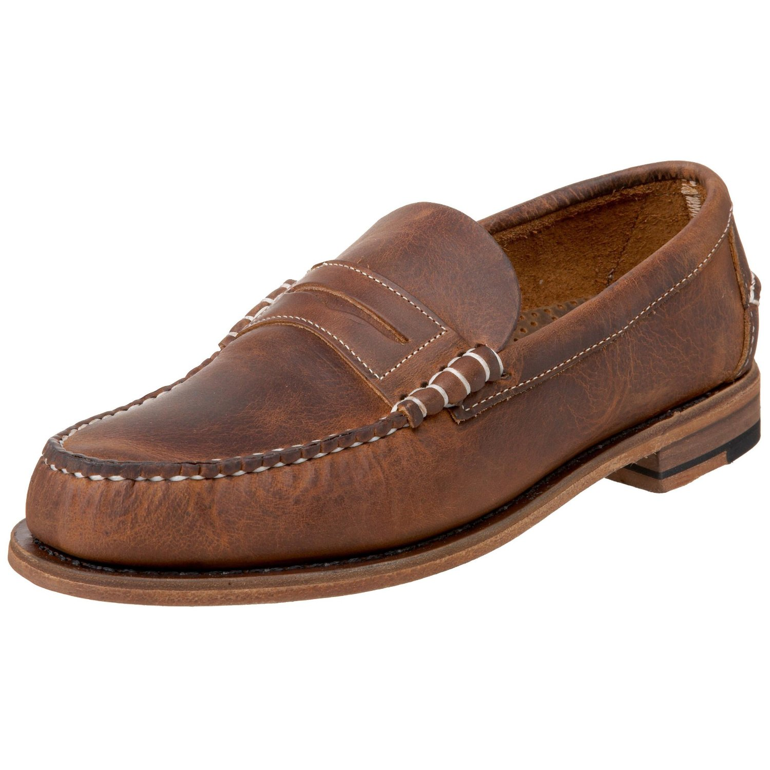 leather shoes for mens sebago s classic leather loafer