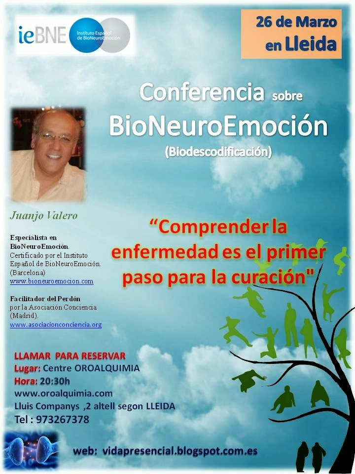 Conferencia en Lleida 26 de Marzo
