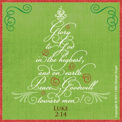 Little Design Angel: A Merry Thankful Christmas to you