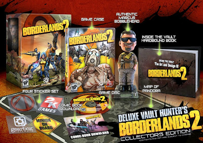 Borderlands 2 Deluxe Hunter's Collector's Edition