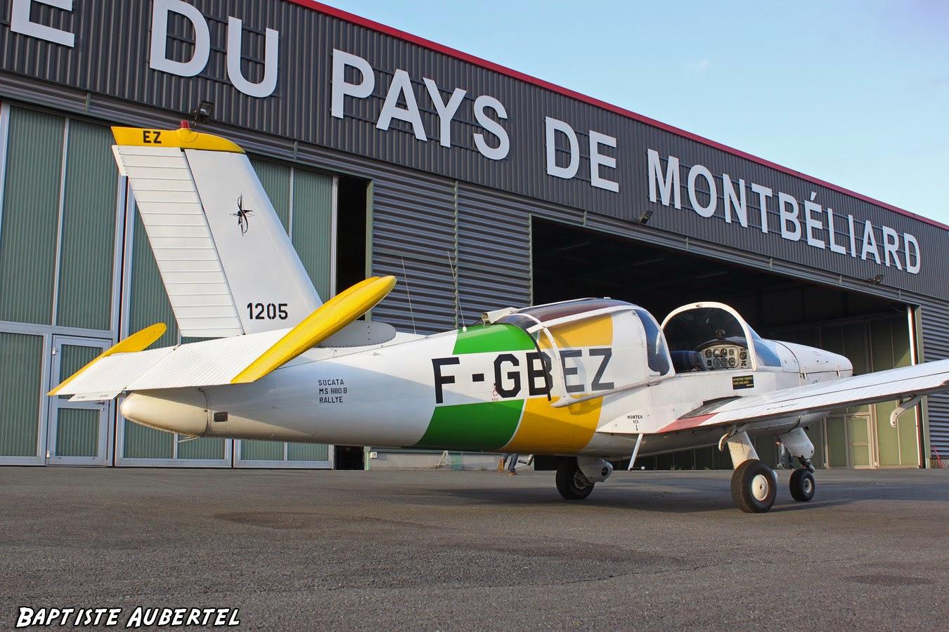 SOCATA Rallye LFSM Montbéliard