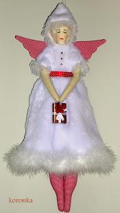 Anioł świąteczny II