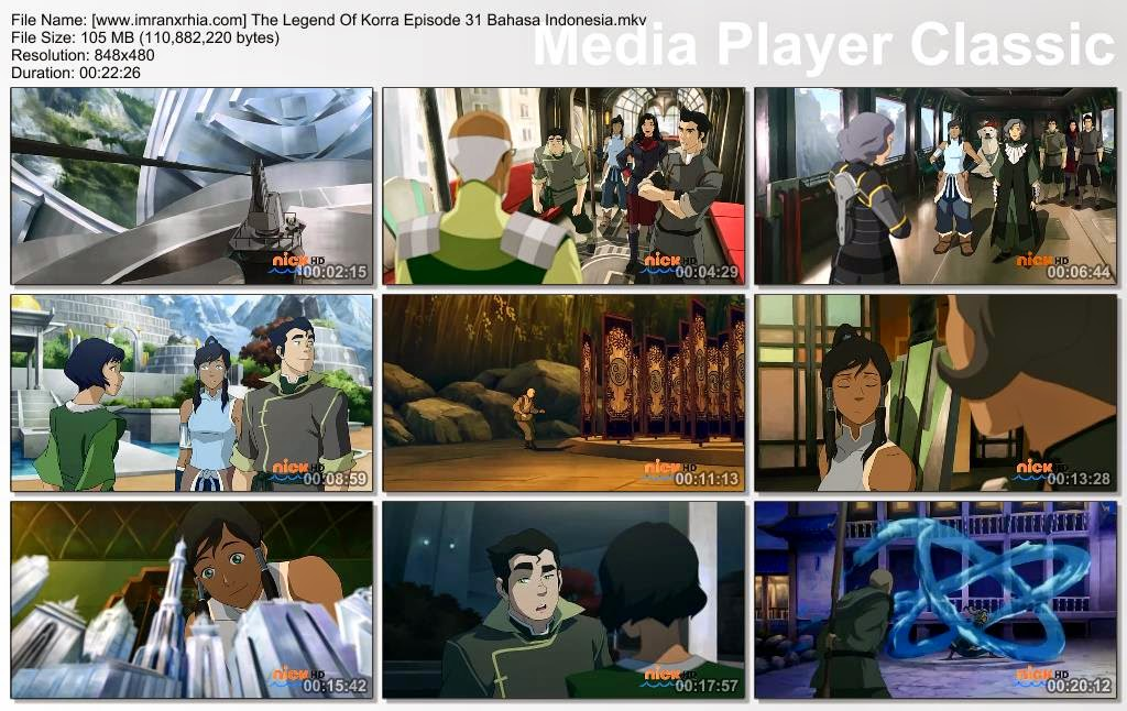Download Film / Anime Avatar: The Legend of Korra Episode 31 Bahasa Indonesia