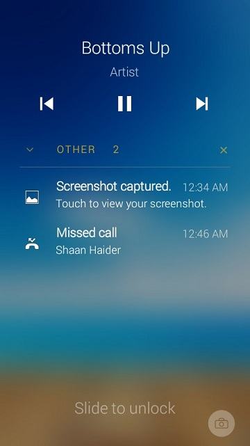 Echo Notification Lockscreen : The Best and Most Productive Android Lockscreen