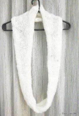 Bufandas circulares tejidas