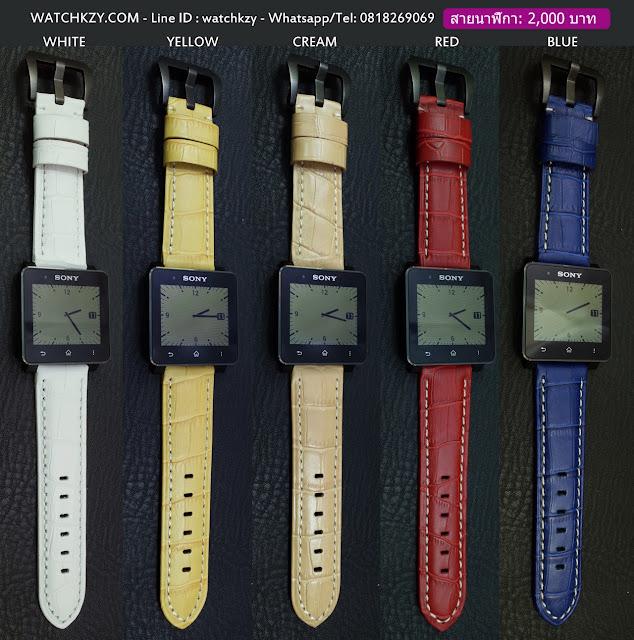 สายนาฬิกา SONY SmartWatch 2 หลากสี #2