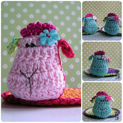 crochet, crochet coaster, Magic with hook and needles, Vendula Maderska design, crochet sheep, crochet patterns, handmade, home decor