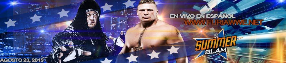 WWE Summerslam 2015 en Vivo y en Español gratis por Internet