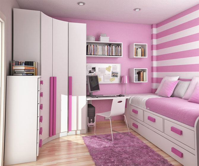 modern home furniture: Top 15 Modern Teenage Room Interior Design ...