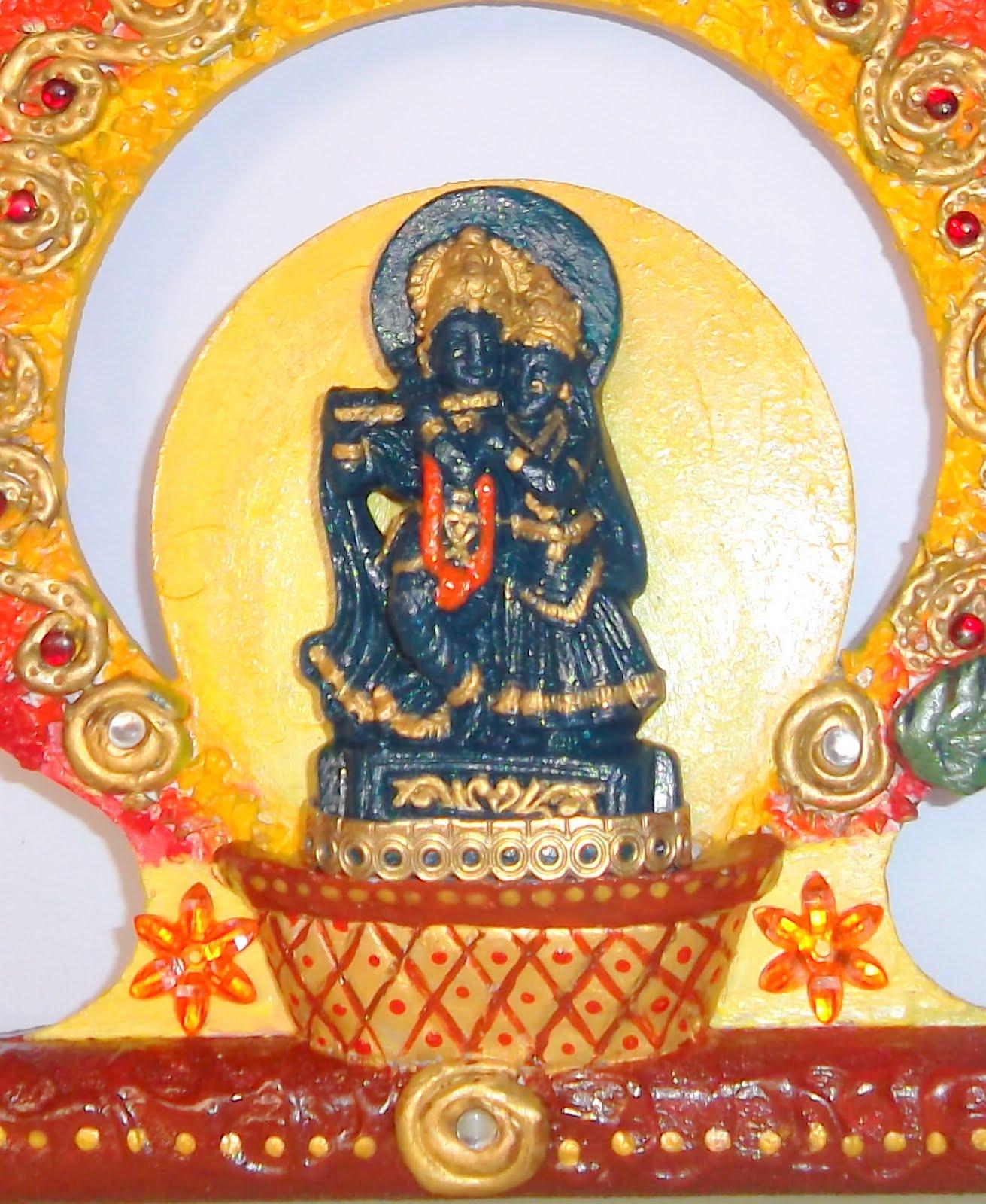 Color Conceptions: Radha Krishna mural