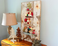 http://thespacebetweenblog.net/2013/11/25/upcycling-idea-christmas-tree-craft/