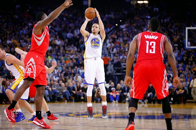 Western Conference Finals 2015: Warriors vs. Rockets Score, Game 1
