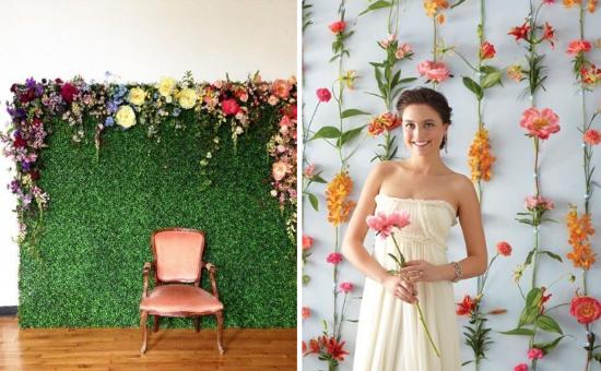 wedding backdrops, flowers, decorazioni matrimonio