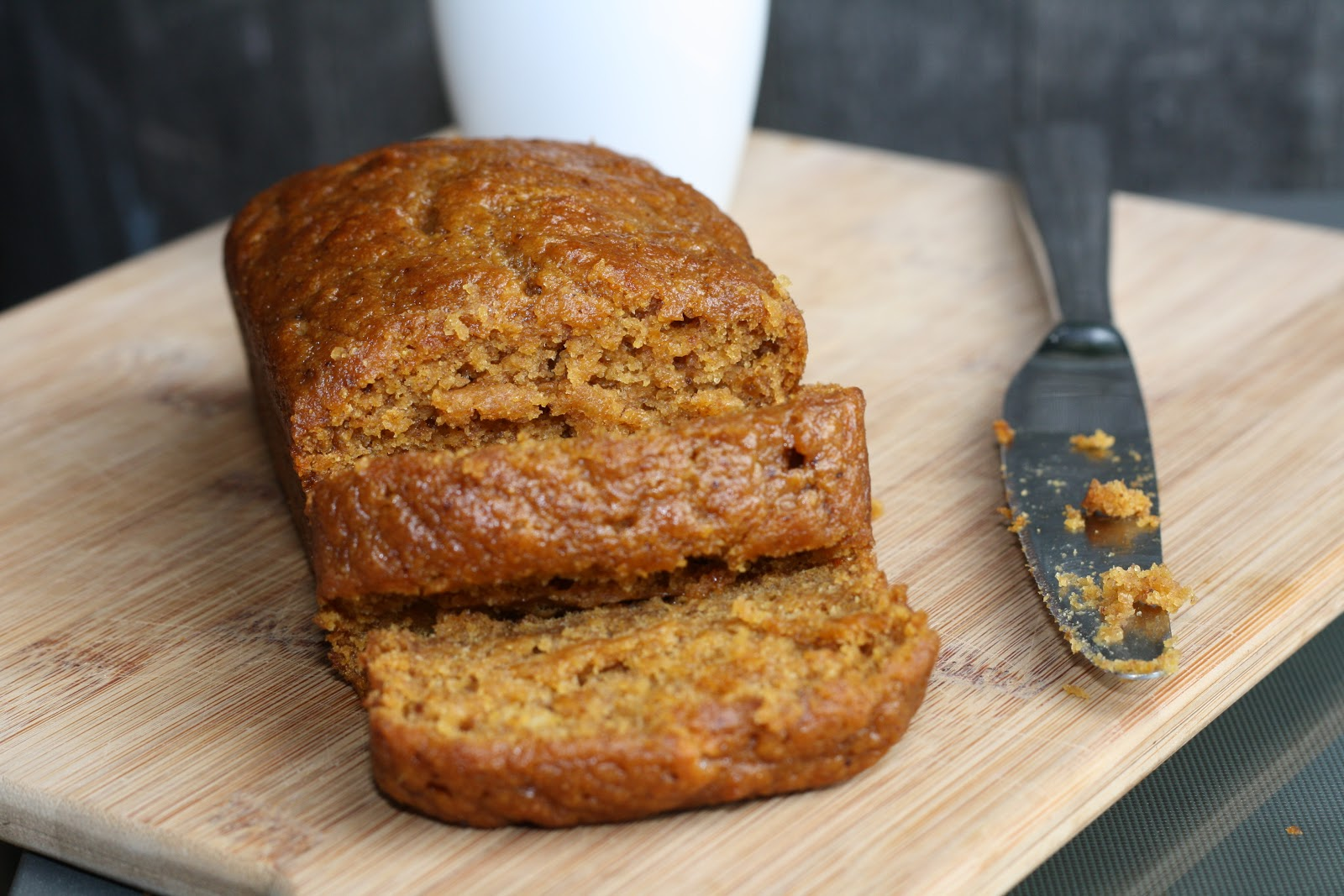 Moist Pumpkin Bread Moist pumpkin-layer goodness: