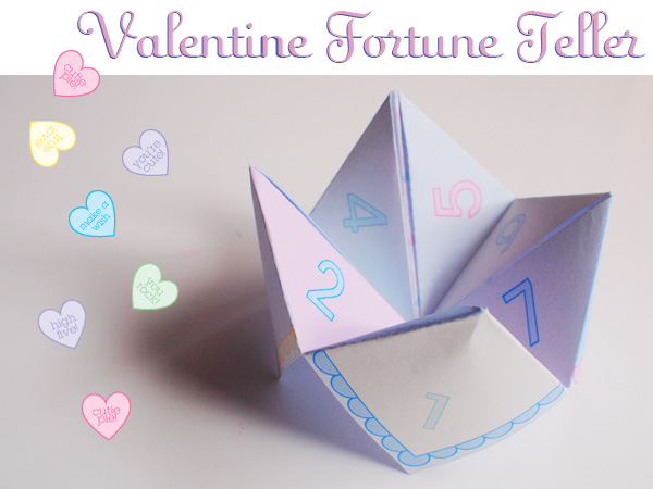 puppy love preschool free valentine cootie catcher printable