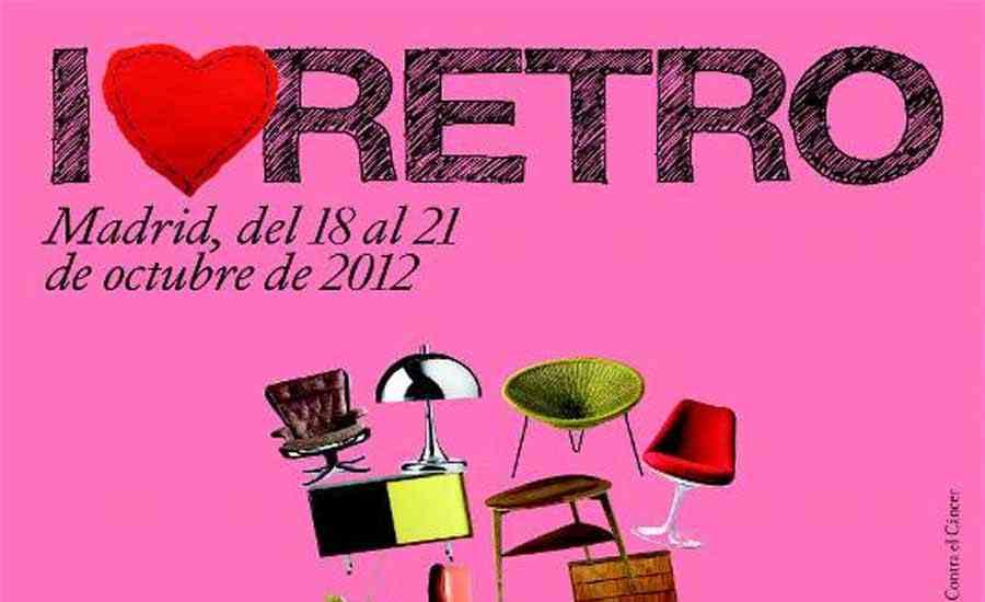 I love retro ii feria del mueble vintage en octubre for Feria del mueble de madrid