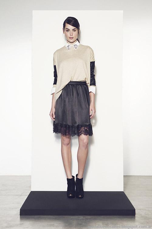 Faldas invierno 2015 moda mujer Clara.