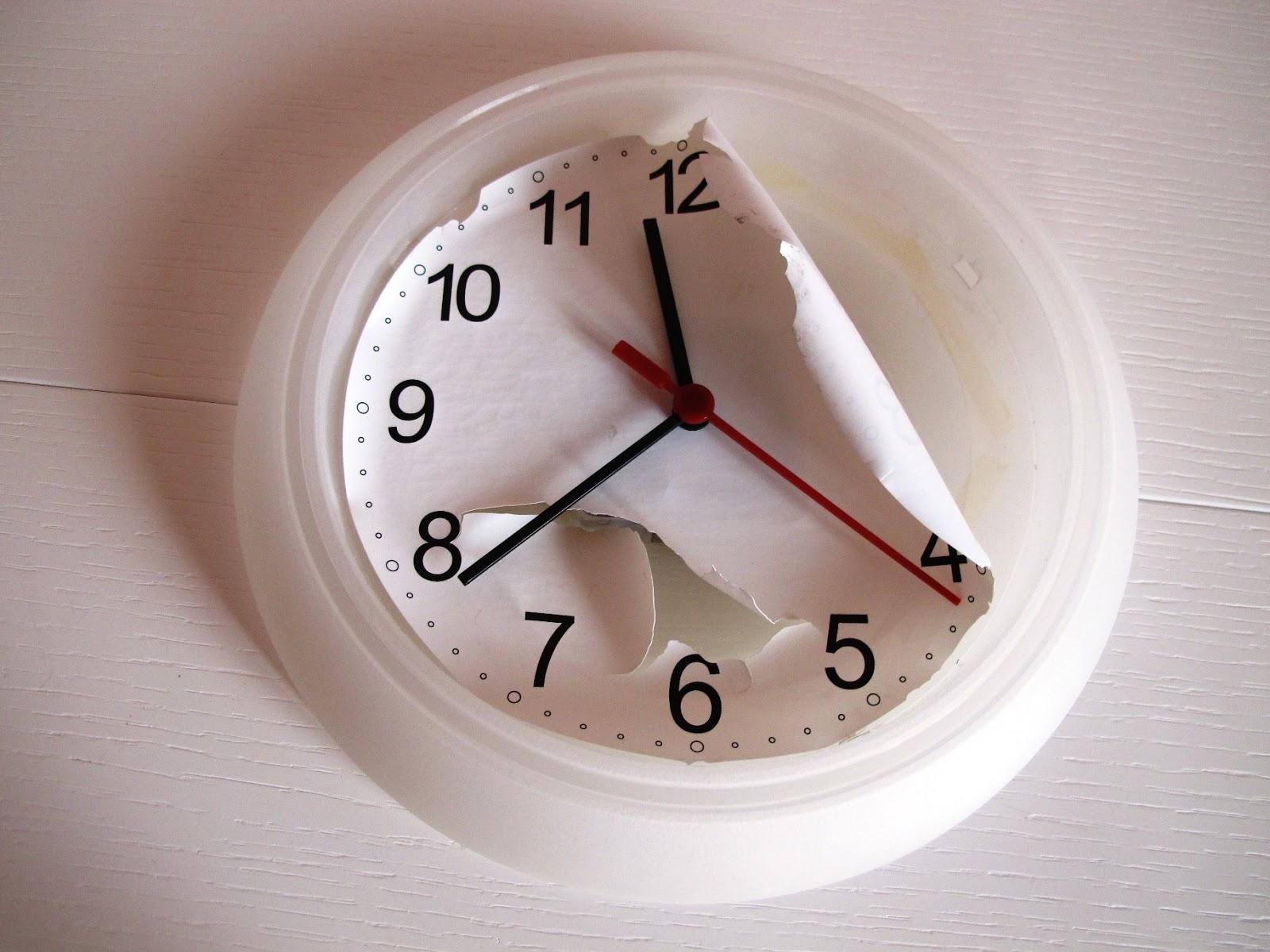 Angolino di liana nuovo look all 39 orologio ikea for Orologio ikea