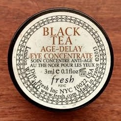Fresh Black Tea Age Delay Eye Concentrate jar