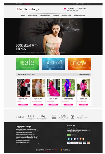 Jasa Pembuatan Website Online Shop Murah Harga Mulai 30.000