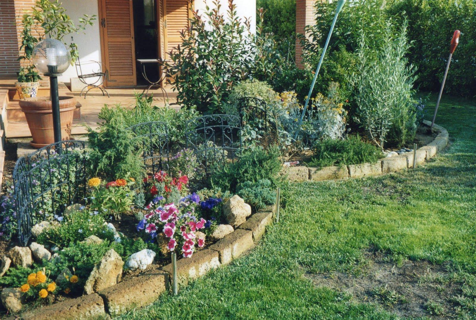 I giardini di carlo e letizia il giardino di riccardo - Vialetto giardino fai da te ...
