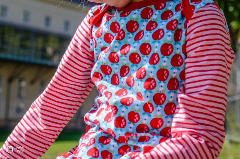 Apfelkleid mit amerikanischen Ausschnitt nach lillesol&pelle-pigugi.blogspot.com