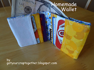 DIY Homemade Wallet Tutorial