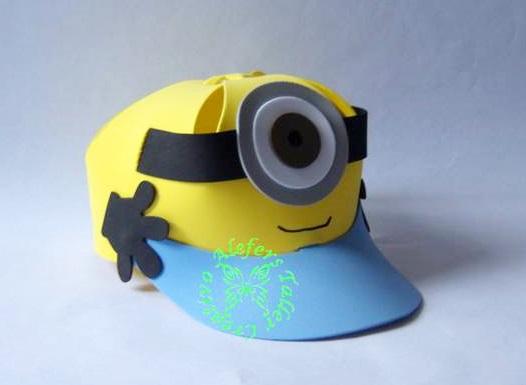Como hacer una gorra de minions de fomi - Imagui