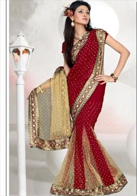 how to wear lehenga saree style