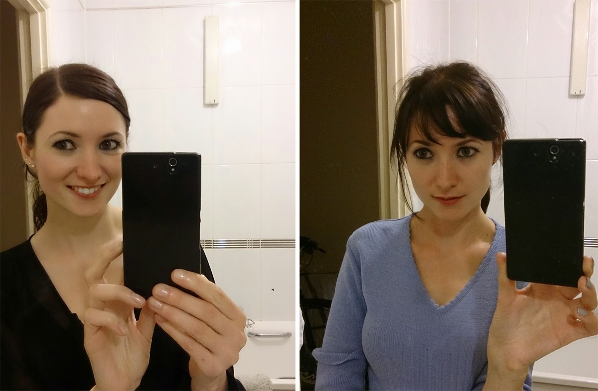 long fringe, short fringe, in pictures, girl's hair, todaymyway.com