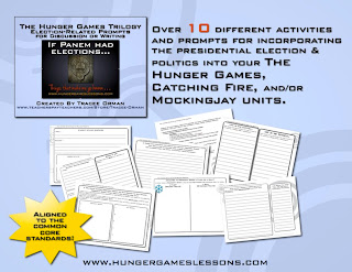Government Activity Pack The Hunger Games