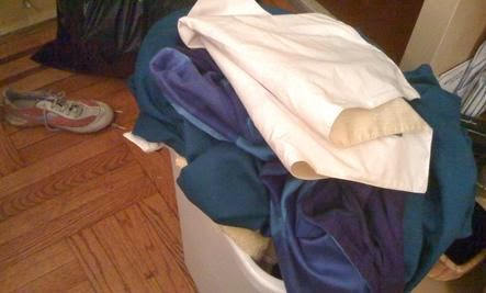 10 Gross Habits to Quit  - clothes mess